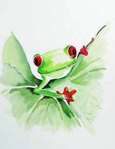 frog watercolor | Add it to your favorites to revisit it later.