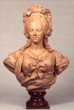 Busto en Terracota de María Antonieta