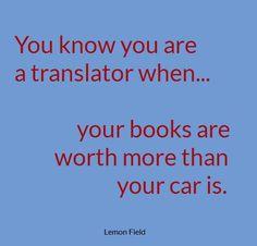 no car, too many books