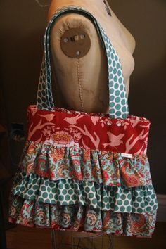 handmade diaper bag? Already made this! My fancy lady bag.
