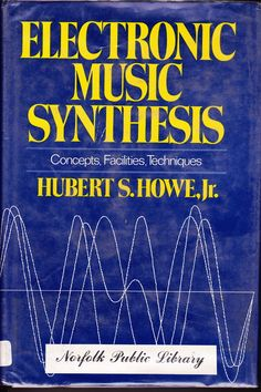 Hubert S. Howe, JR. Electronic Music Synthesis. 1975  Thanks to Andy Ortmann for pointing this book out to me.