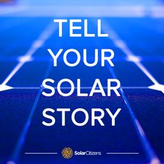 We're looking for Solar Citizens from around the country to tell their solar stories to local and national media over the coming weeks.  With the government making a final decision on the fate of the Renewable Energy Target soon we're looking for people to speak out in the media when they come calling to us.  Please send us your solar story to info@solarcitizens.org.au with a contact phone number.