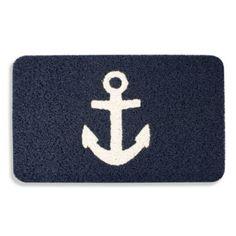 Kikkerland® Anchor 18-Inch x 30-Inch Door Mat - BedBathandBeyond.com
