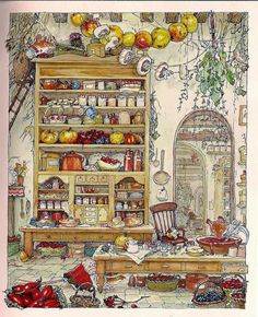 Jill Barklem - The Complete Brambly Hedge: 4 thousand images found in Yandeks.Kartinki