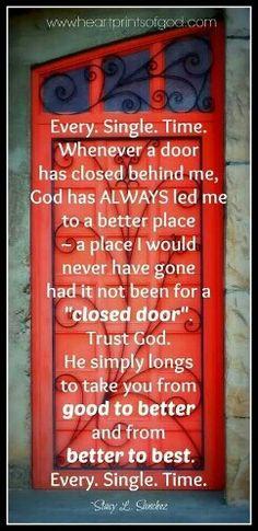 Just wait on Him.