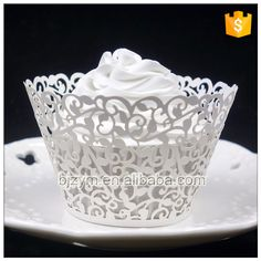 Check out this product on Alibaba.com APP High quality laser cutting vine design paper cake decorating tools Cupcake Wrapper for wedding baby shower decoration