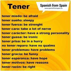 Spanish Practice, Learn Spanish Free, Learn To Speak Spanish, Learn Spanish Online, Study Spanish, Spanish English, Spanish Lessons, Learn English, Spanish Grammar