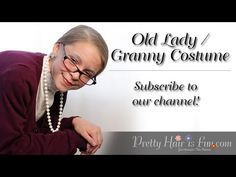 How To: Halloween Old Lady/Granny Costume and Makeup Cute Little Girl Hairstyles, Pretty Hairstyles, Old Lady Makeup, Hair Makeup, Granny Costume, Old Lady Costume, Pageant Makeup, Belle Hairstyle, Dance Makeup