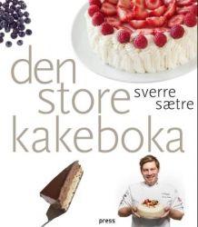 Den store kakeboka av Sverre Sætre (Innbundet)