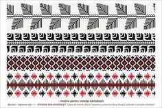 Semne Cusute: Romanian traditional motifs Russian Embroidery, Folk Embroidery, Cross Stitch Embroidery, Embroidery Ideas, Cross Stitch Borders, Cross Stitch Patterns, Fertility Symbols, Point Lace, Alexander The Great