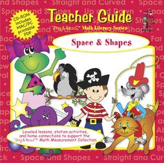 Space & Shapes T/G CD-ROM - Math - Sing & Read - Curriculum  | Frog Street Press