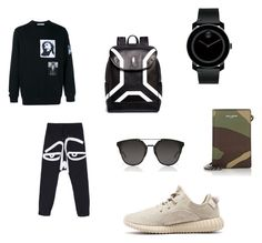 Babe's style. by suhhhhhhhh on Polyvore featuring polyvore, Movado, Dior Homme, Neil Barrett, Yves Saint Laurent, Givenchy, men's fashion, menswear and clothing