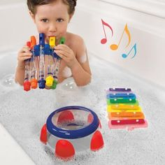 Symphony Bath Toy Musical Instrument Set