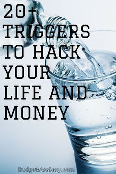 A handful of money and life hacks to help keep you motivated and reach your financial goals. It's all about physical triggers! Ways To Save Money, Money Tips, Money Saving Tips, How To Make Money, Financial Tips, Financial Planning, Budgeting Money, Money Matters, Money Management