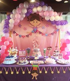 Gymnastic Theme Party Decoration