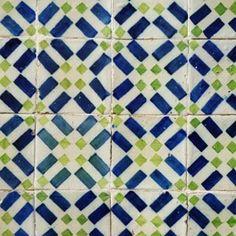 Azulejos, Lisboa, Portugal
