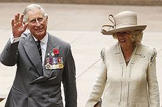 Prince Charles and Camilla wave goodbye