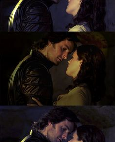 Sir Guy and Lady Marian in BBC  Robin Hood.