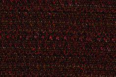 Tissu Chanel rouge et mordoré. Une autre version du tissu Chanel bleu pétrole et mordoré.