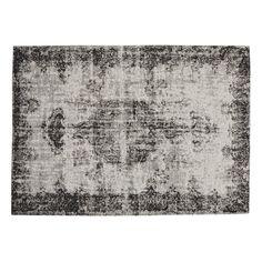 Alfombra negra 200 × 290cm VILLANDRY