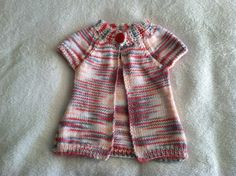 Baby Girl Cardigan by HeirloomBabyGifts on Etsy, $15.00