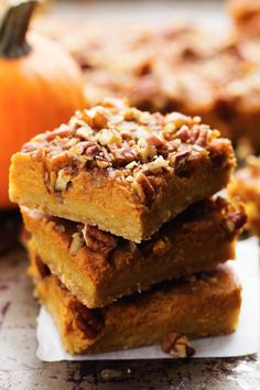 Really nice recipes. Every hour. • Pumpkin Pecan Pie Bars Really nice recipes. Every...