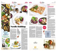 Here's How to Embrace and Savor Winter, Nordic-Style|Epoch Taste #Food #newspaper #editorialdesign