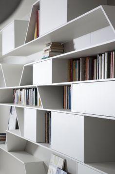 Salone del Mobile 2013 Milano: Pianca presenta la libreria Angle