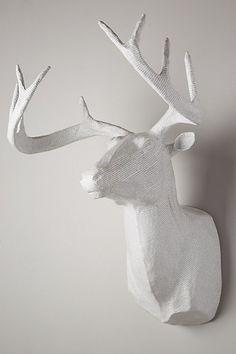 Wire Deer Head