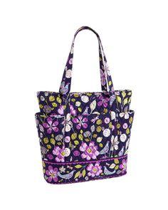 Vera Bradley Go Round Tote Bag Floral Nightengale NEW NWT FREE PRIORITY SHIP #VeraBradley #TotesShoppers