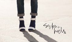 It's all about the right shoe (not too strappy) and the perfect sock (not too bulky). - Garance Doré, on #SocksAndSandals