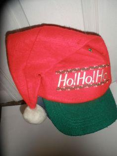 50abc065 Vintage Christmas SANTA SNAPBACK Hat Cap NICE Ugly Sweater Party COOL  #Christmas #SantaHat