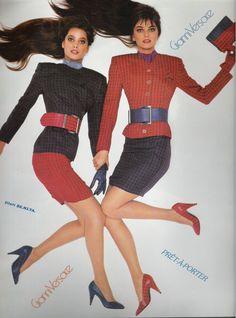 Gianni Versace ss 1988 by Richard Avedon, Paulina Porizcova Christy Turlington
