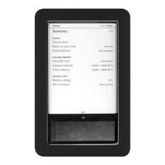 Premium Black Soft Gel Silicone Skin for the Nook, Barnes and Nobles Electronic eBook Reader Case Cover by Luxmo. $2.99. Personalize and protect your Nook from the elements with this Silicone Skin Cover.Personalizes and protects against bumps, scratches, fingerprints and dirt.Tailor-fitted and precision molded for the Barnes & Noble Nook.Openings for the charger and headphone jack which allow access to all functions.Markings for side buttons.Compatible with Barnes & ...