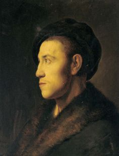 Jan Lievens, Portrait of a young man in profile