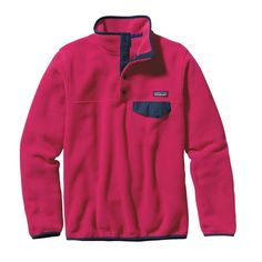 W's Lightweight Synchilla® Snap-T® Pullover, Craft Pink (CFTP)