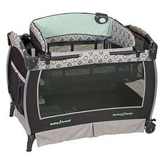 Baby Trend Deluxe Close & Cozy Nursery Center Playard, Artisan (For my baby boy. Love this portable bassinet. Perfect for nights when Joshua's at work:)) Baby Ei, Changing Station, Baby Bassinet, Baby Playpen, Tote Storage, Best Gym, Baby Center, Trends, Baby Essentials