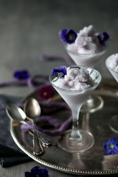 Violet sorbet, Empress Sissi´s fav icecream
