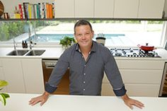 """It's no surprise that celebrity chef Gary Mehigan sees his kitchen as the """"heart of the home"""" - a place where family and friends come together to share food and swap stories."""