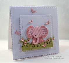 FS490 Patchwork Baby Elephant by kittie747 at Splitcoaststampers