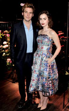lily collins and sam claflin - Google Search