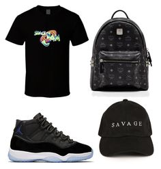 """Space jam fit"" by bluesimmone on Polyvore featuring MCM"