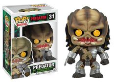 Funko POP Vinyl's have become one of the most successful and collectible toy lines in the last decade. Here's where you'll find Radar Toy's selection of Funko POP Vinyl figures, and yes, we carry a bunch! Funko POP Vinyl's are awesome! Alien Vs Predator, Predator Figure, Predator Movie, Figurines D'action, Pop Figurine, Pop Vinyl Figures, King Kong, Craft Ideas, Toddler Girls