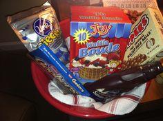 Ice cream gift basket ideas cheap easy Valentine's Ideas Date Ideas