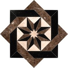 Stone tile medallions from Oshkosh Designs are used in wood or stone flooring or work well as a backsplash. Choose from our designs or customize your own. Granite Flooring, Stone Flooring, Floor Patterns, Tile Patterns, Entryway Flooring, Arts And Crafts House, Stone Cladding, Ceiling Design, Mosaic Art