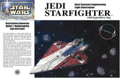 Star Wars Episode II Obi-Wan Kenobi Jedi Starfighter Japanese Collectible 1/72-Scale Model Kit by Underground Toys. $35.00. Ship mounts and removes from the hyper drive ring unit; includes a figure of Obi-Wan Kenobi. Nearly all markings are provided as decals to keep painting as simple as possible; kit comes with 80. Exclusive Japanese Import available only at Target.com; kit comes in Japanese packaging. Make your very own 1:72-scale Jedi Starfighter replica; unique ship...