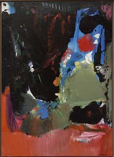 And Thunderclouds Pass by Hans Hofmann,  1961 Oil on Canvas  #hanshofmann #abstract #abstractexpressionism