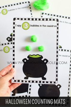 Latest Pics halloween preschool printables Popular Would you generally wonder how you can have the funds for it all? No matter whether you use Montessori schooling as wel Halloween Theme Preschool, Halloween Math, Halloween Activities For Kids, Fall Preschool, Theme Halloween, Kindergarten Activities, Halloween Week, Halloween Images, Preschool Math
