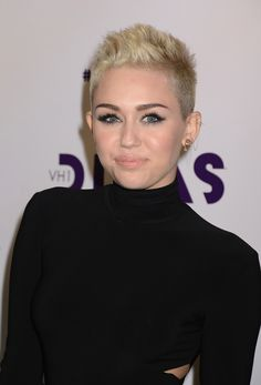 Miley Cyrus's Shorn Sides