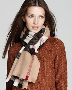Burberry Patchwork Tweed Cashmere Wool Scarf - Scarves & Wraps - Hats, Scarves & Gloves - Accessories - Jewelry & Accessories - Bloomingdale's